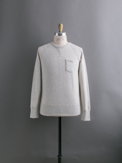 CHAMPION × TODD SNYDER | POCKET SWEATSHIRT Oatmeal Heather 裏起毛ポケットスウェットシャツの商品画像