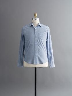STEVEN ALAN   REVERSE SEAM PINSTRIPE SHIRT Yellow White リバースシームピンストライプシャツの商品画像