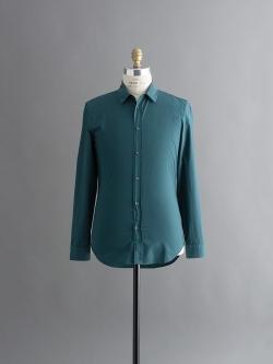 MAISON MARGIELA | SLIM FIT SHIRT Dark Green ガーメントダイスリムフィットシャツの商品画像