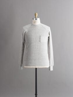 FilMelange | BYRD3 Mix Melange 吊り編みスウェットシャツの商品画像