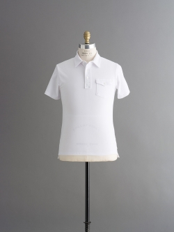 TODD SNYDER | CLASSIC PIQUE POLO White 半袖ポロシャツの商品画像