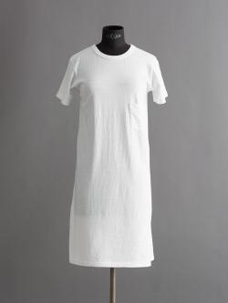 FilMelange | LEYLA Ozone White 半袖天竺ワンピースの商品画像
