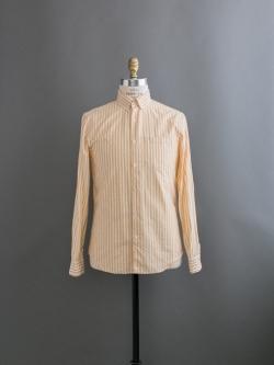 STEVEN ALAN   SINGLE NEEDLE SHIRT LS Wheat Stripe ボタンダウンストライプシャツの商品画像