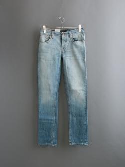 NUDIE JEANS | GRIM TIM Marble Tears スリムテーパードジーンズ グリムティムの商品画像