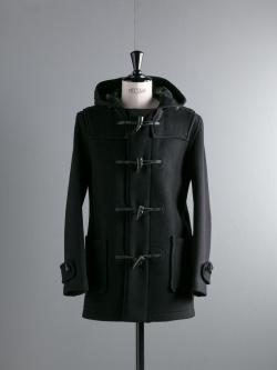 GLOVERALL | MID LENGTH DUFFLE COAT 3251CT Black レギュラーフィットダッフルコートの商品画像