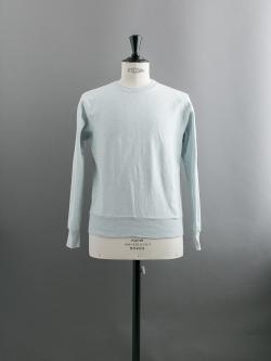 FilMelange | ANDY Ice Blue 空紡裏起毛スウェットシャツの商品画像