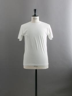 SUNSPEL | LONG-STAPLE COTTON CLASSIC T-SHIRT White 半袖クルーネックTシャツの商品画像