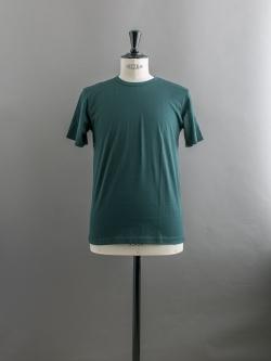 SUNSPEL | LONG-STAPLE COTTON CLASSIC T-SHIRT Dark Green 半袖クルーネックTシャツの商品画像
