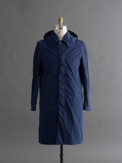 MACKINTOSH | GMP-027B Blue ナイロンフーデッドコートの商品画像