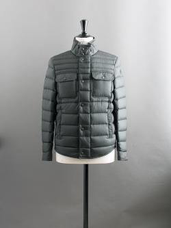 MONCLER | FORBIN Khaki Green(876) スタンドカラーライトダウンジャケットの商品画像
