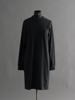 SUNSPEL | COTTON LONG SLEEVE T-SHIRT DRESS Black Q82長袖カットソーワンピースの商品画像
