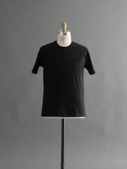 GICIPI | 1704P Nero マーセライズコットンクルーネックTシャツの商品画像