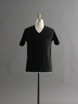 GICIPI | 1705P Nero マーセライズコットンVネックTシャツの商品画像