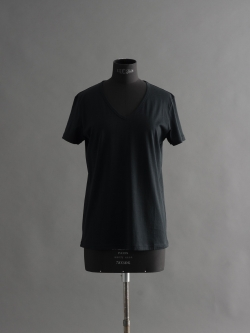 SUNSPEL | BOYFRIEND FIT V NECK T-SHIRT Black Q82VネックTシャツの商品画像