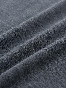 JOHN SMEDLEY | COTSWOLD Charcoal ウールニットポロシャツの商品画像