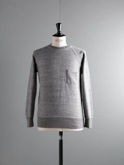 FilMelange | BYRD3 Black Melange 吊り編みスウェットシャツの商品画像