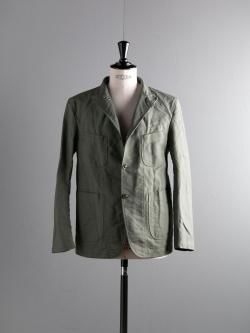 ENGINEERED GARMENTS | BEDFORD JACKET – COTTON DOUBLE CLOTH Olive コットンダブルクロスベッドフォードジャケット