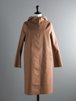 MACKINTOSH | LR-021 Camel ウールゴム引きフード付きコートの商品画像