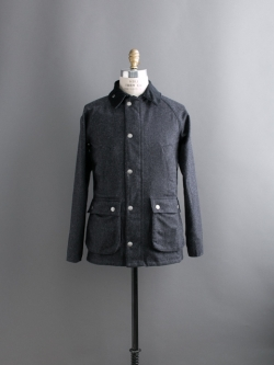 SL BEDALE WOOL JACKET Charcoal