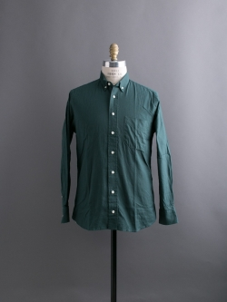 SOLID OXFORD BUTTON-DOWN SHIRT Green