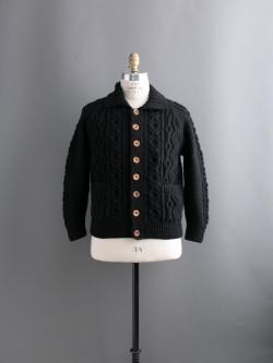 INVERALLAN | 3A CARDIGAN Black ハンドニットジャケットの商品画像
