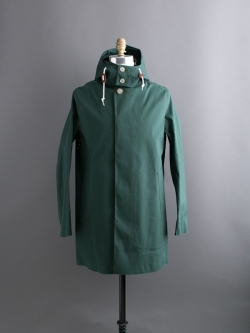 MACKINTOSH | DUNOON HOOD Green ダヌーンフード ゴム引きコートの商品画像
