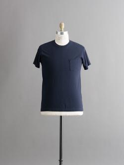 FilMelange | SUNNY Deep Navy 半袖クルーネックTシャツの商品画像