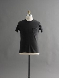 FilMelange | SUNNY Black Melange 半袖クルーネックTシャツの商品画像