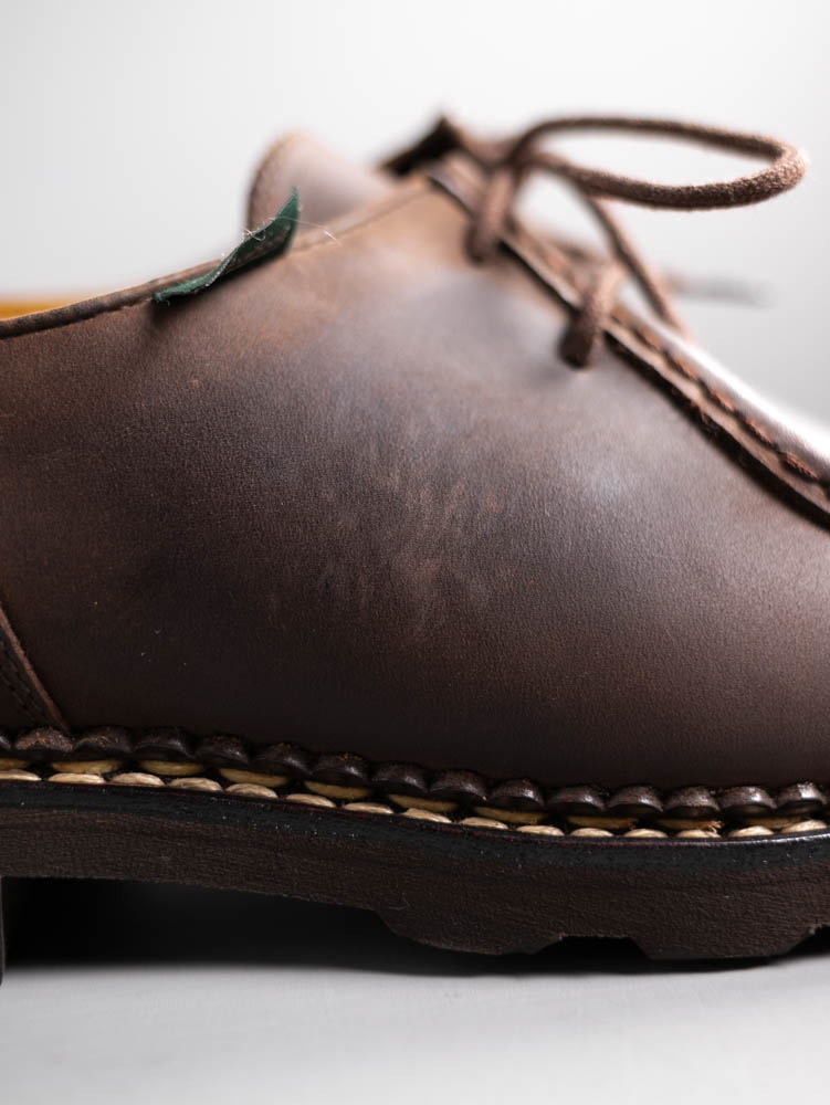 Paraboot Michael//Marche II Marron-Gringo TG #715607 Made in France