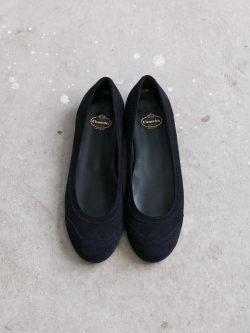 CHURCH'S | ANNE Blue Suede Classic スエードブローグパンプス