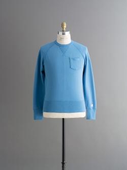 CHAMPION × TODD SNYDER | POCKET SWEATSHIRT Ocean 裏毛ポケットスウェットシャツの商品画像