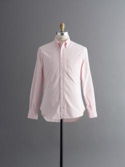 VINTAGE BUTTON-DOWN OXFORD SHIRT Pink Stripe