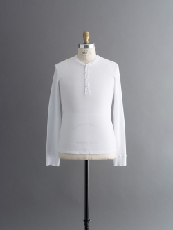KARL-HEINZ LONG SLEEVE HENLEY White