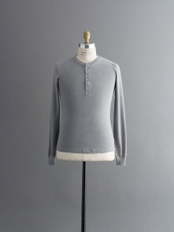 KARL-HEINZ LONG SLEEVE HENLEY Grey