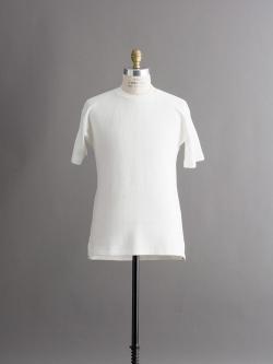 FilMelange | PHIL Off White 半袖クルーネックトップスの商品画像