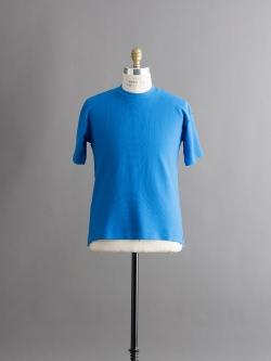 FilMelange | PHIL Blue 半袖クルーネックトップスの商品画像