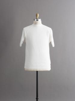 FilMelange | STEEL Off White 半袖スウェットシャツの商品画像
