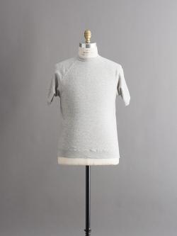 FilMelange | STEEL Melange 半袖スウェットシャツの商品画像