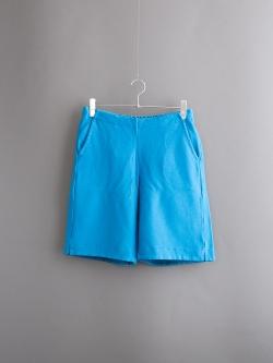 FilMelange | POLLY Blue リンクス編みハーフパンツの商品画像