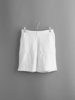 FilMelange | POLLY Off White リンクス編みハーフパンツの商品画像