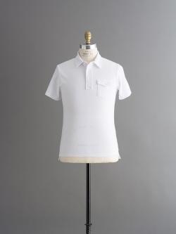 その他のBRAND | TODD SNYDER / CLASSIC PIQUE POLO White 半袖ポロシャツの商品画像