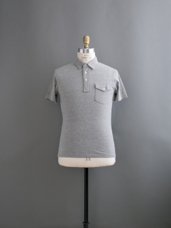TODD SNYDER | CLASSIC PIQUE POLO Grey Heather 半袖ポロシャツの商品画像