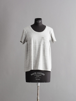 FilMelange | ANNIE Old Melange 半袖クルーネックTシャツの商品画像