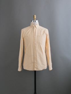 STEVEN ALAN | SINGLE NEEDLE SHIRT LS Wheat Stripe ボタンダウンストライプシャツの商品画像