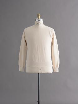 FilMelange | ANDY Natural 空紡裏起毛スウェットシャツの商品画像