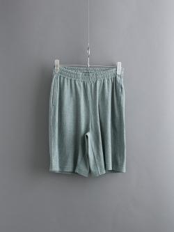 FilMelange | DARBY Green Melange 天竺ショートパンツの商品画像