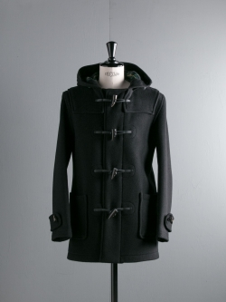 GLOVERALL | MID LENGTH DUFFLE COAT 3251CT Black レギュラーフィットダッフルコート
