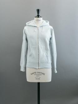 FilMelange | ASTOLEY GL Ice Blue 空紡裏起毛スウェットパーカの商品画像