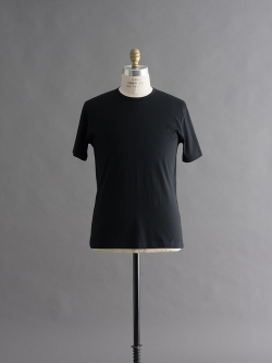 SUNSPEL | LONG-STAPLE COTTON CLASSIC T-SHIRT Black 半袖クルーネックTシャツの商品画像