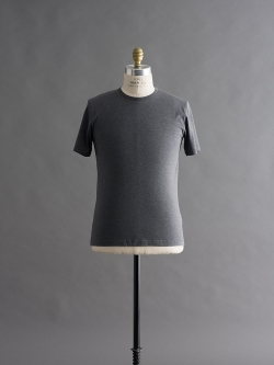 SUNSPEL | LONG-STAPLE COTTON CLASSIC T-SHIRT Charcoal 半袖クルーネックTシャツの商品画像